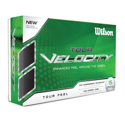 wilson tour velocity feel golfbolde