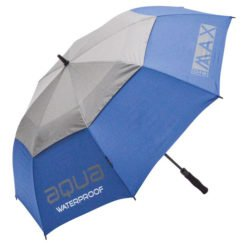 Big Max Aqua golf paraply i blå og grå