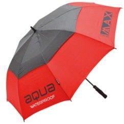 Big Max Aqua golfparaply i rød og sort
