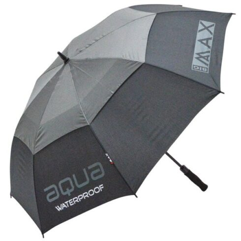 Big Max Aqua golfparaply i sort og grå
