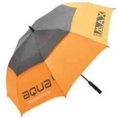 Big Max Aqua golfparaply i orange og sort
