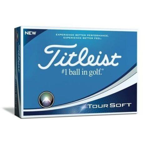 Titleist Tour Soft Golfbolde Med Teksttryk
