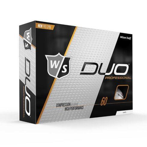 Wilson Staff Duo Professional Golfbolde Med Logo