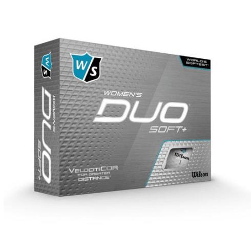 Wilson Staff Duo Soft + Dame Golfbolde Med Logo