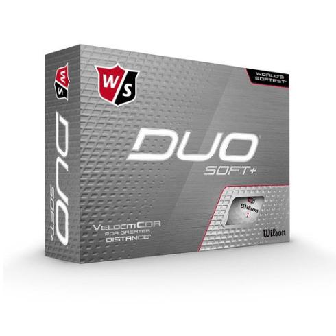 Wilson Staff Duo Soft + Golfbolde Med Logo