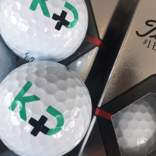 golfbolde med logotryk 1