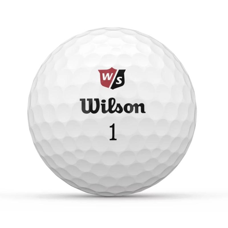 Wilson Staff Duo Soft+ Golfbolde Med Logotryk